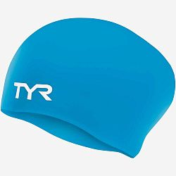 Шапочка для плавания TYR Long Hair Wrinkle-Free Silicone Junior Cap